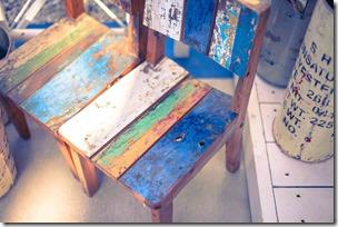 古びた椅子
