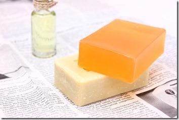 石鹸とオイル