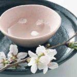 桜と日本酒