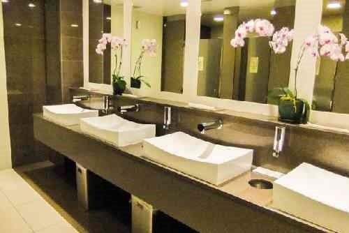 トイレの鏡