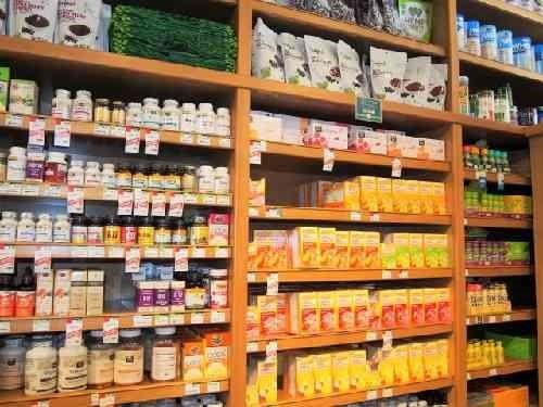 健康食品売り場