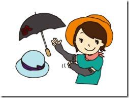 衣服や帽子による紫外線対策