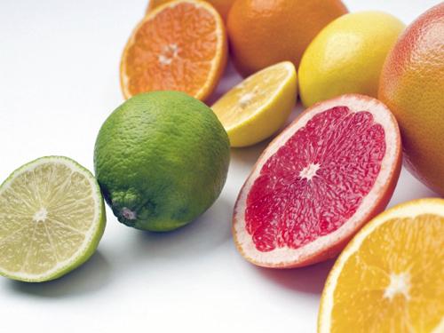 かんきつ類の果物
