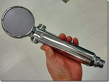 マイクロバブルの美容水シャワーヘッド