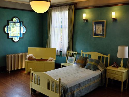 女子の寝室