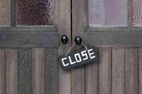closeのドア
