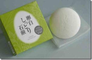卵白しっとり石鹸